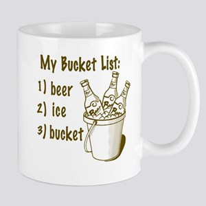My Beer Bucket List Mug