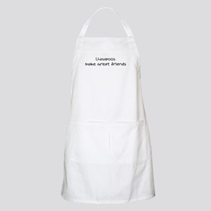 Lhasapoos make friends BBQ Apron