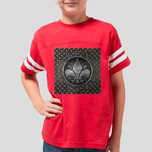 fleur2-metal-CLK Youth Football Shirt