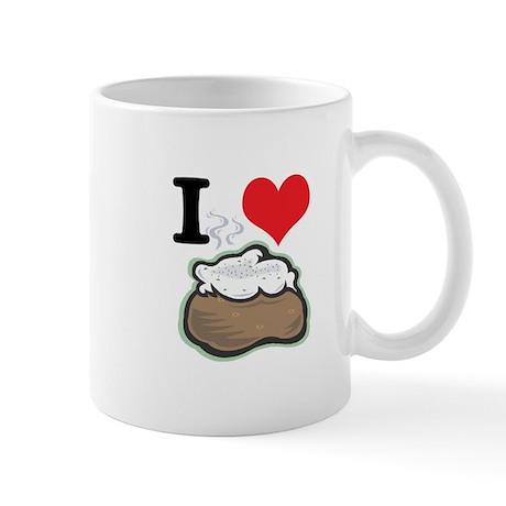 I Heart (Love) Baked Potatoes Mug