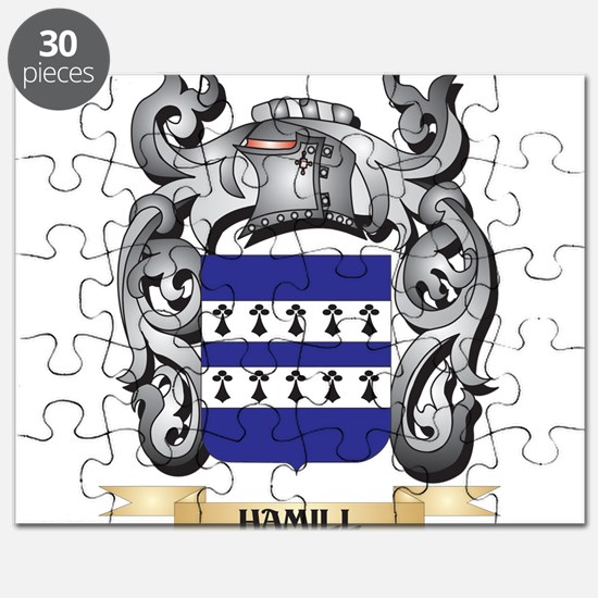 Hamill Coat of Arms - Family Crest Puzzle
