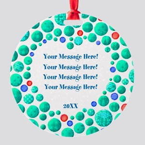 Add Your Message Ornament