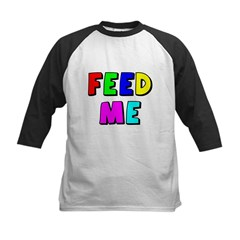 The Feed Me Kids Baseball Jersey