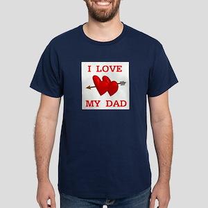 LOVE MY DAD Dark T-Shirt