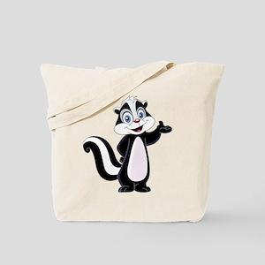 Cartoon Skunk Tote Bag