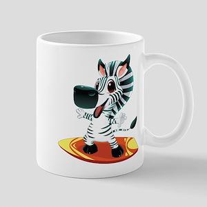 Surfing Zebra Mug