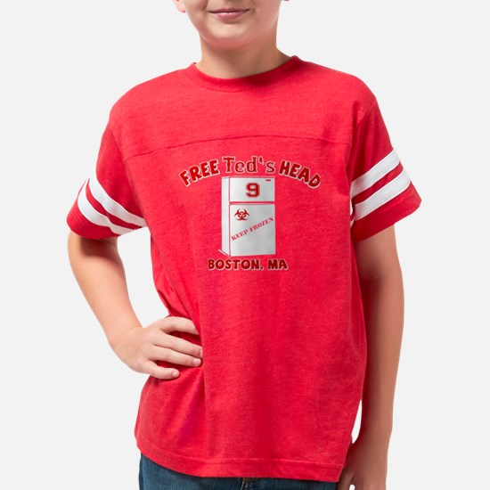teds_head_red Youth Football Shirt