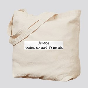 Jindos make friends Tote Bag