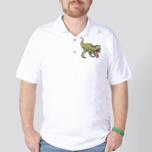 Screaming Dinosaur Golf Shirt