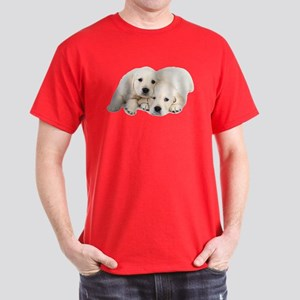 White Labradors Dark T-Shirt