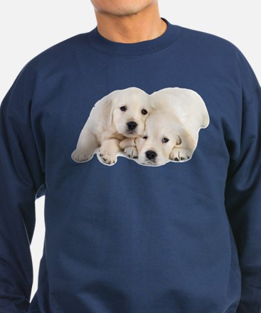 White Labradors Sweatshirt (dark)
