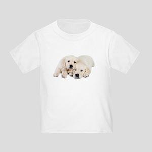 White Labradors Toddler T-Shirt