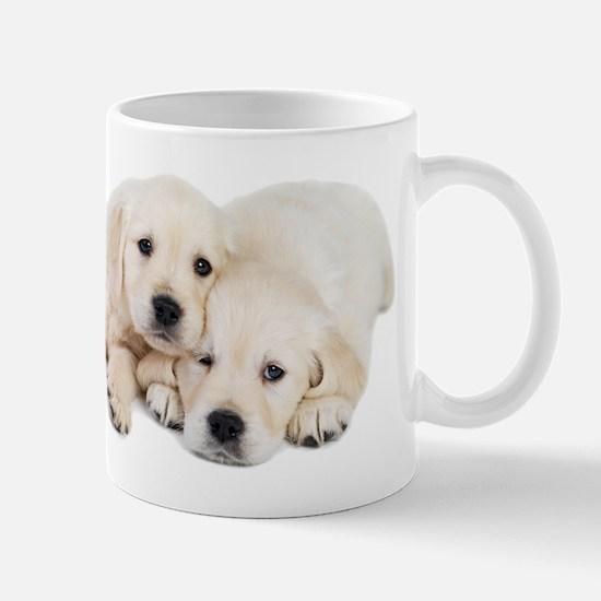 White Labradors Mug