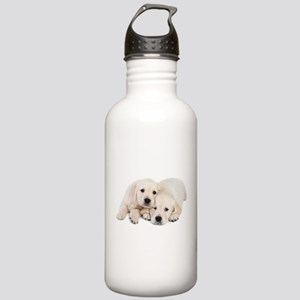 White Labradors Stainless Water Bottle 1.0L