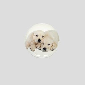 White Labradors Mini Button