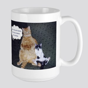 If only we had thumbs... Large Mug