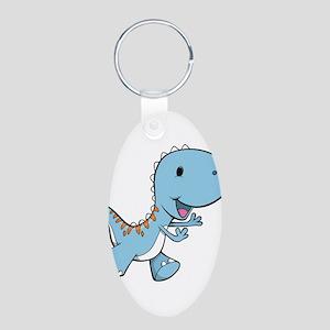 Running Baby Dino Keychains