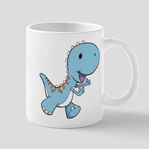Running Baby Dino Mug