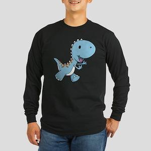 Running Baby Dino Long Sleeve T-Shirt
