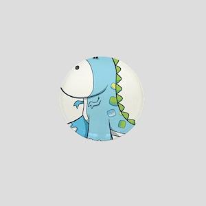 Baby Shower Dino Mini Button