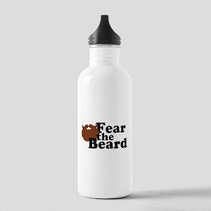 Fear the Beard - Brown Water Bottle