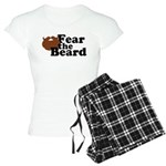 Fear the Beard - Brown Pajamas