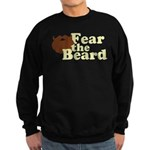 Fear the Beard - Brown Sweatshirt