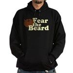 Fear the Beard - Brown Hoodie