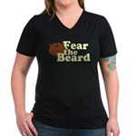 Fear the Beard - Brown T-Shirt