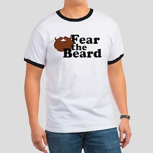 Fear the Beard - Brown T-Shirt