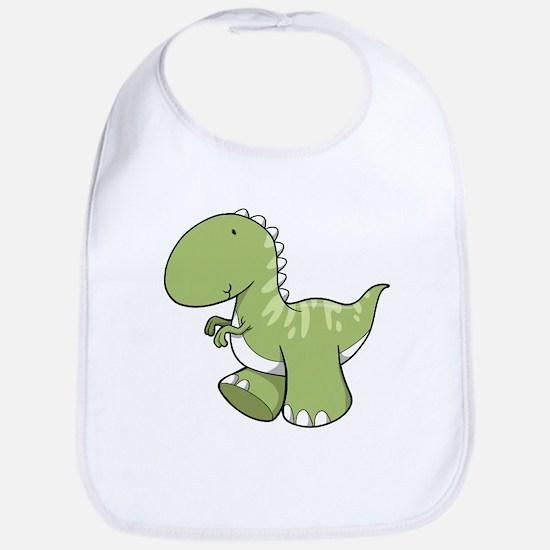 Green Baby Dinosaur Bib