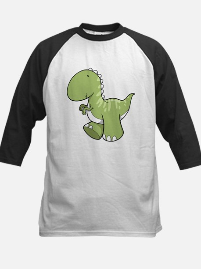 Green Baby Dinosaur Baseball Jersey