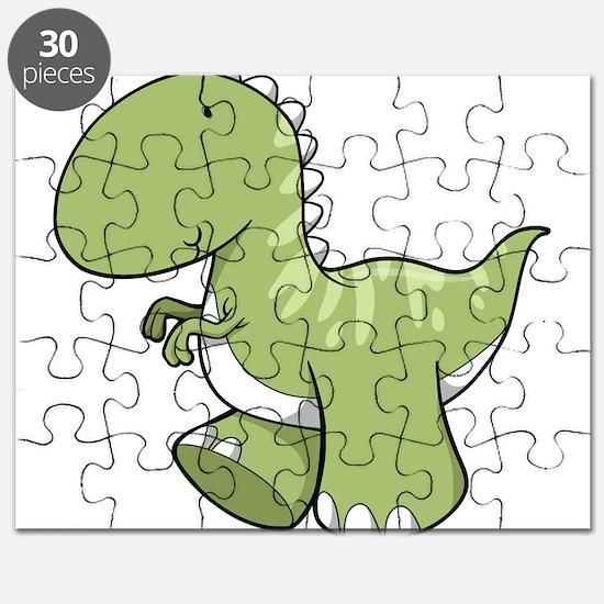 Green Baby Dinosaur Puzzle