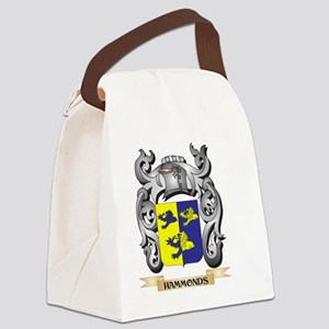 Hammonds Coat of Arms - Family Cr Canvas Lunch Bag