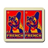 French bulldog Mouse Pads