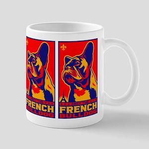 Obey the FRENCH BULLDOG! Propaganda Mug