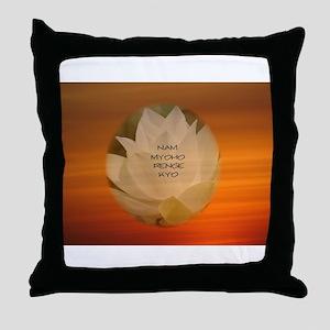 SGI Buddhist NMRK Throw Pillow