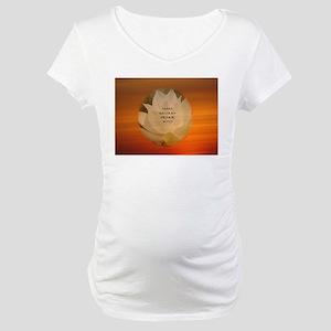 SGI Buddhist NMRK Maternity T-Shirt
