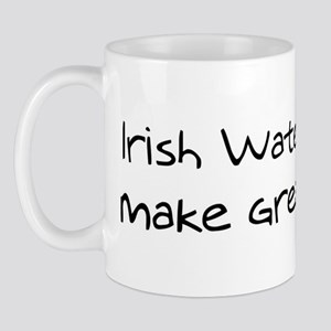 Irish Water Spaniels make fri Mug