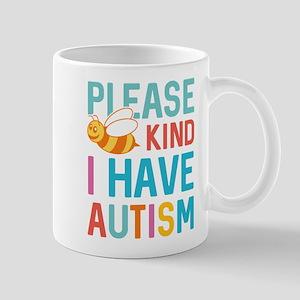 I Have Autism Mug