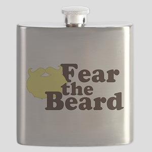 Fear the Beard - Blonde Flask