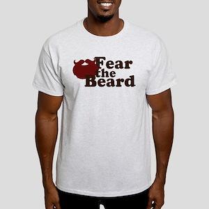 Fear the Beard - Red Light T-Shirt