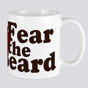 Fear the Beard - Red Mug
