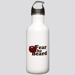 Fear the Beard - Red Stainless Water Bottle 1.0L