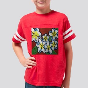 Flowers 10x10 square 1 Youth Football Shirt
