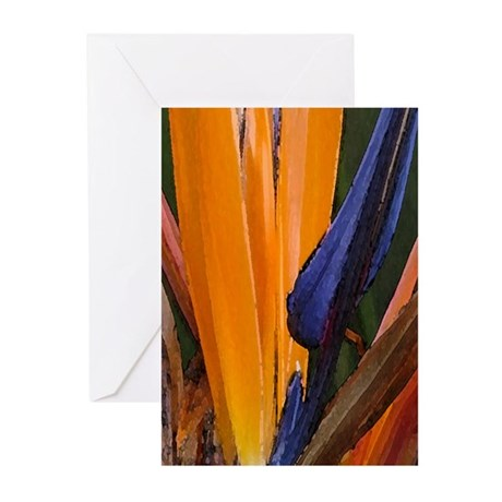 Birds of Paradise 1 Greeting Cards (Pk of 10)