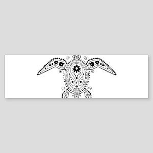 Art Turtle Bumper Sticker