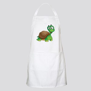 Funny Cartoon Turtle Apron