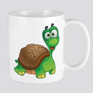 Funny Cartoon Turtle Mug