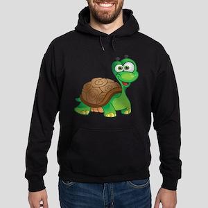 Funny Cartoon Turtle Hoodie